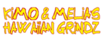 Kimo and Melias Hawaiian Grind Logo